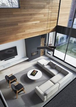 grey living decor and interior ideas